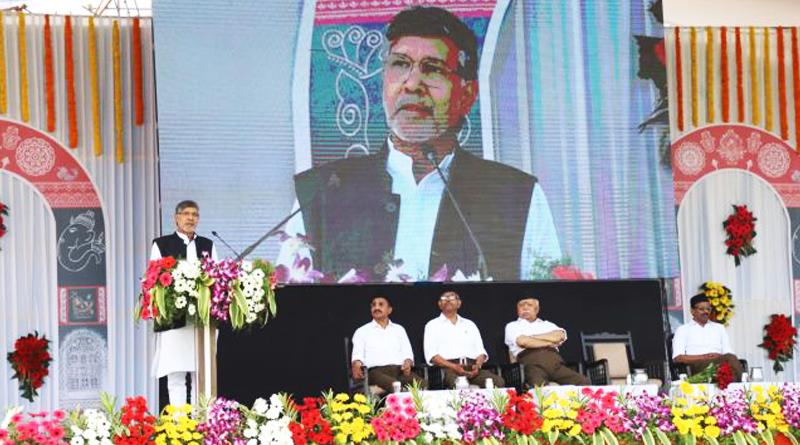 """Panchaamrita – The real concoction for Nation Building"": Kailash Satyarthi."