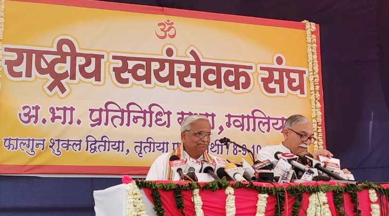RSS' new initiative to focus on environment conservation – Bhaiyyaji Joshi.